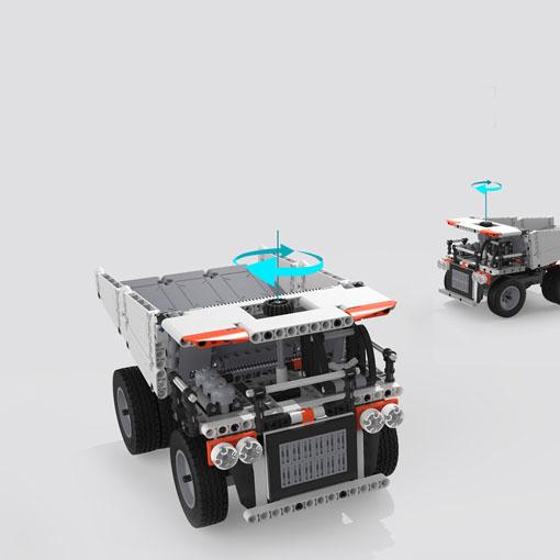 MiTu Building blocks Mine Truck