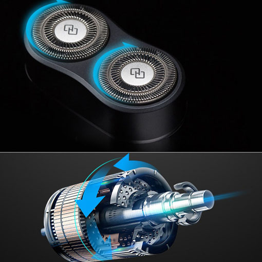 Handx (ZHIBAI) Portable Electric Shaver