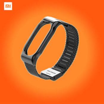 Металлический ремешок для Xiaomi Mi Band 3/4
