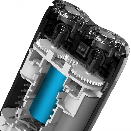 Xiaomi Mijia Electric Shaver Double-Ring MSX201