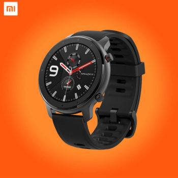 1 Xiaomi Amazfit GTR Lite 47mm aluminum alloy Black