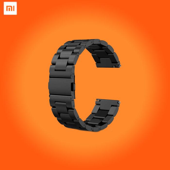 Металлический ремешок для смарт-часов Xiaomi