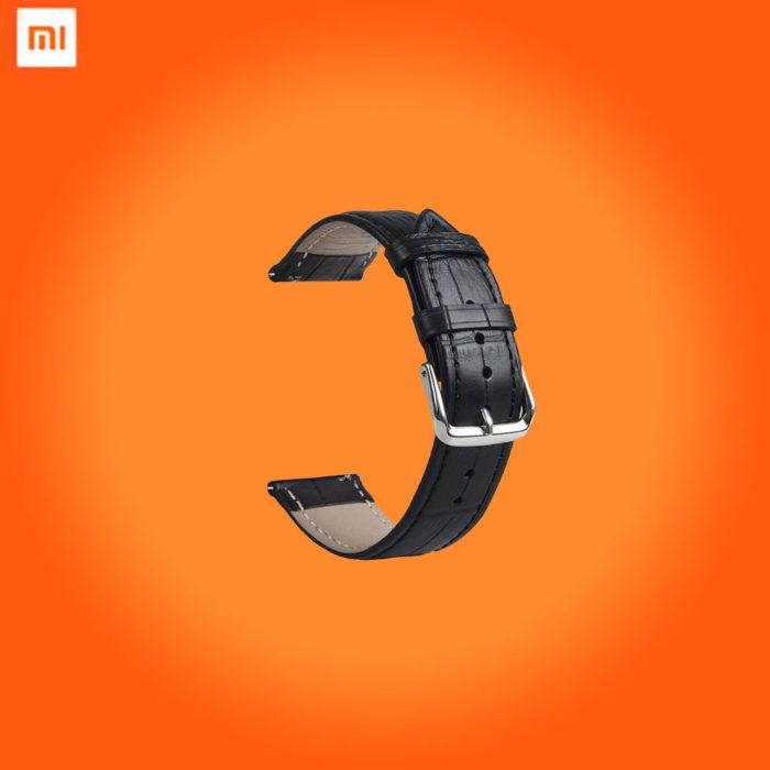 Кожаный ремешок для смарт-часов Xiaomi