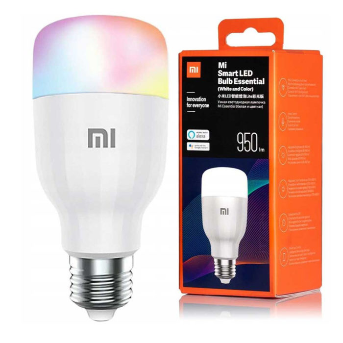 Xiaomi Mijia Smart LED Bulb Essential (White and Color)