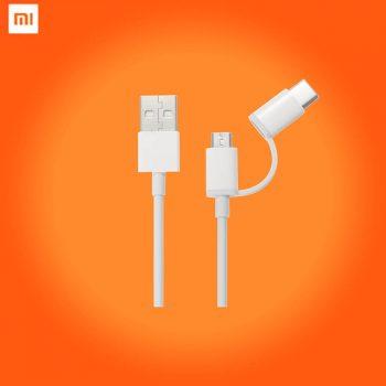 Xiaomi Mi USB 2-in-1 Micro and Type-C 30cm